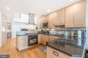 Open concept in Unit 2 - 1723 19TH ST NW, WASHINGTON