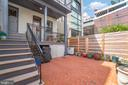 Brick Patio for Units 1 and 2 - 1723 19TH ST NW, WASHINGTON