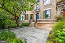 New flagstone patio welcomes you and your guests - 1723 19TH ST NW, WASHINGTON