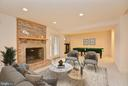 Family Room - 10526 MEREWORTH LN, OAKTON