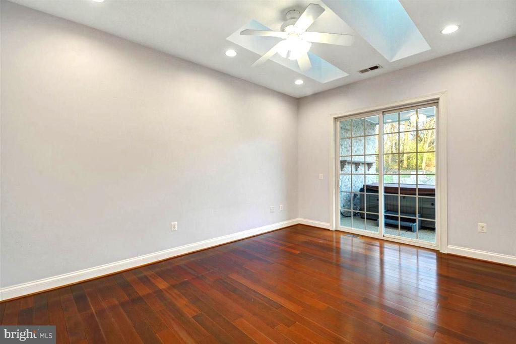 Den / Office / Bedroom #5  leads to Patio - 14515 SHIRLEY BOHN RD, MOUNT AIRY