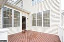Deck2 - 22525 WILLINGTON SQ, ASHBURN
