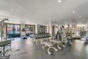Main Level Gym Drenched in Sunlight - 1615 N QUEEN ST #M303, ARLINGTON