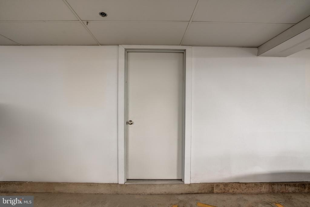 Storage Rooms located in Secure Garage - 1615 N QUEEN ST #M303, ARLINGTON