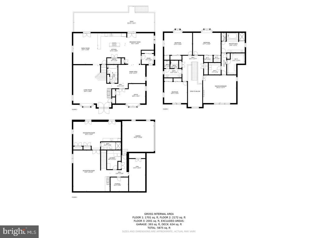 Floor Plans - 525 NELSON DR NE, VIENNA