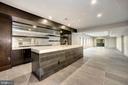 Basement full size bar - 5800 37TH ST N, ARLINGTON