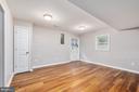 LL office/4th bedroom w/access to rear yard - 330 TULIP CIR, FREDERICKSBURG