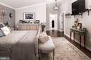 Master Bedroom - 20857 ASHBURN RD, ASHBURN