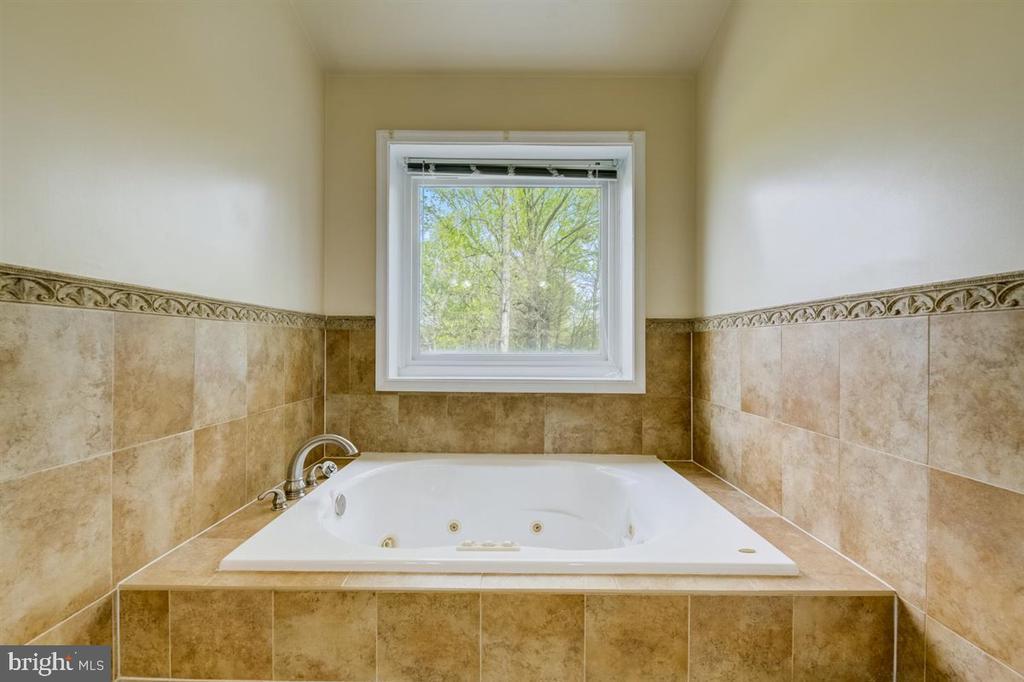 Primary bathroom of jet tub (photo 2) - 8900 MAGNOLIA RIDGE RD, FAIRFAX STATION