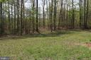 View from back of home - 13708 GABRIEL CT, SPOTSYLVANIA