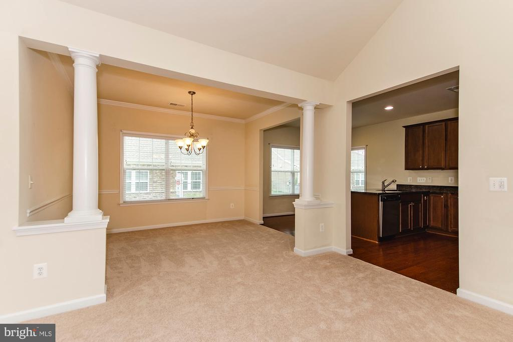 Classic Molding and separate dining area - 63 HARPERS MILL WAY, LOVETTSVILLE