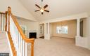 Stairs to loft area and upper level - 63 HARPERS MILL WAY, LOVETTSVILLE