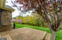 Lovely patio overlooking woodlands - 63 HARPERS MILL WAY, LOVETTSVILLE