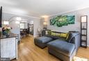 Living Room - 2309 N SIBLEY ST, ALEXANDRIA
