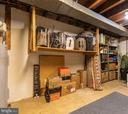 Metal Shelves in Basement Convey - 2309 N SIBLEY ST, ALEXANDRIA