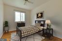 Bedroom 4 with rear view - 5041 KING RICHARD DR, ANNANDALE