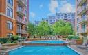 Community: Courtyard Pool - 1201 N GARFIELD ST #114, ARLINGTON
