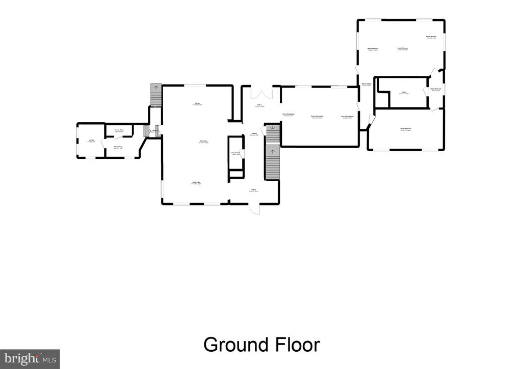 Floor Plan Main Level - 12620 CHEWNING LN, FREDERICKSBURG