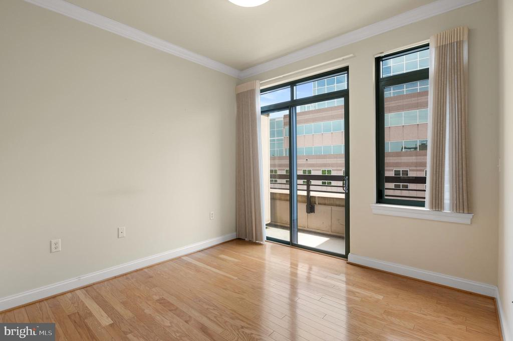 Bedroom #2 with balcony - 3625 10TH ST N #903, ARLINGTON