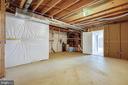 Large Storage Area in Basement - 39 HOUSER DR, LOVETTSVILLE