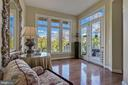 Additional sitting area off Family Rm & Kitchen - 18362 FAIRWAY OAKS SQ, LEESBURG