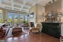 architectural Details through out the home! - 18362 FAIRWAY OAKS SQ, LEESBURG