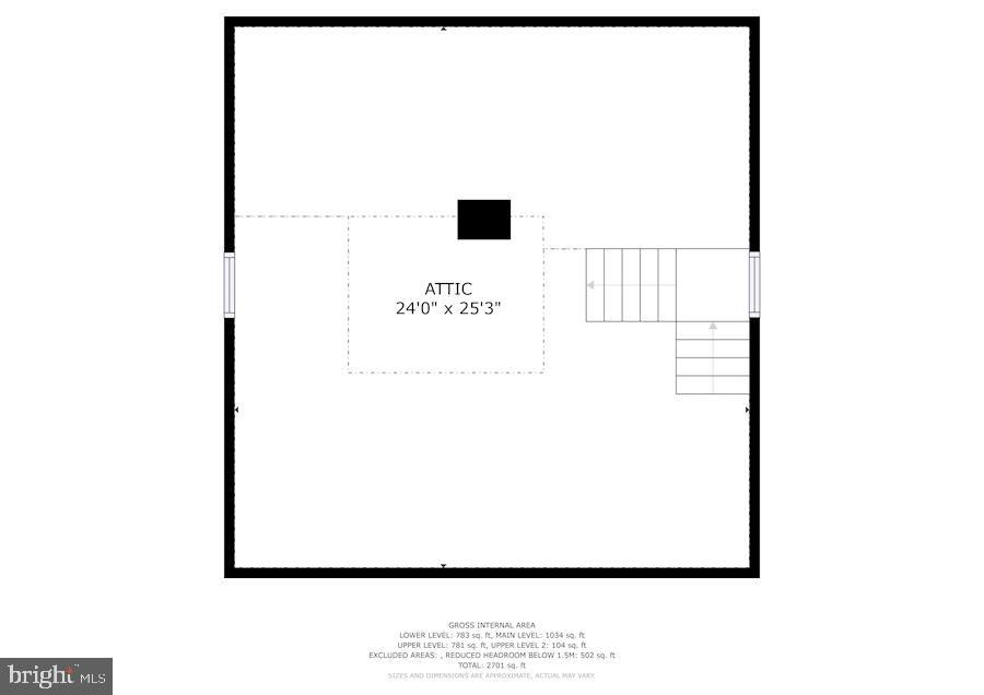 Attic - 415 S MAPLE AVE, PURCELLVILLE