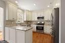 Stunning kitchen renovation - 25532 GOVER DR, CHANTILLY