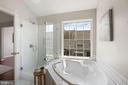 Seamless shower doors & custom tilework - 25532 GOVER DR, CHANTILLY