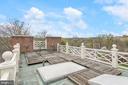 Roof Deck - 6 KALORAMA CIR NW, WASHINGTON