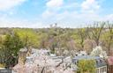 View from Roof Deck - 6 KALORAMA CIR NW, WASHINGTON