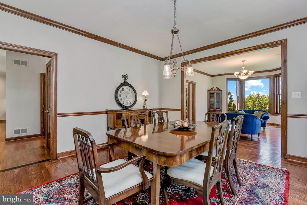 Dining Room | Classic Moldings - 8329 MYERSVILLE RD, MIDDLETOWN