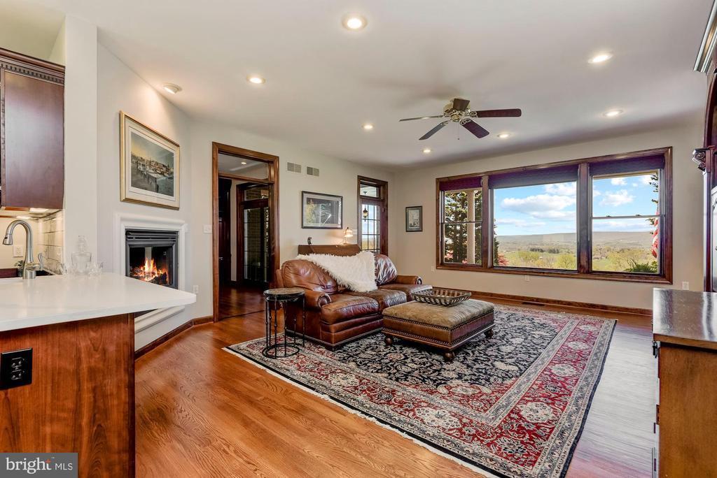 Family Room | Views | Custom Pella Windows - 8329 MYERSVILLE RD, MIDDLETOWN