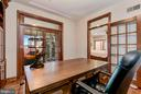 Private Office | Built-In Shelving - 8329 MYERSVILLE RD, MIDDLETOWN