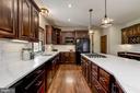 Quartz Countertops | Decorative Backsplash - 8329 MYERSVILLE RD, MIDDLETOWN