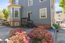 Private entrance to Apartment - 804 CHARLES ST, FREDERICKSBURG