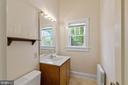 Main Level Bath - 804 CHARLES ST, FREDERICKSBURG
