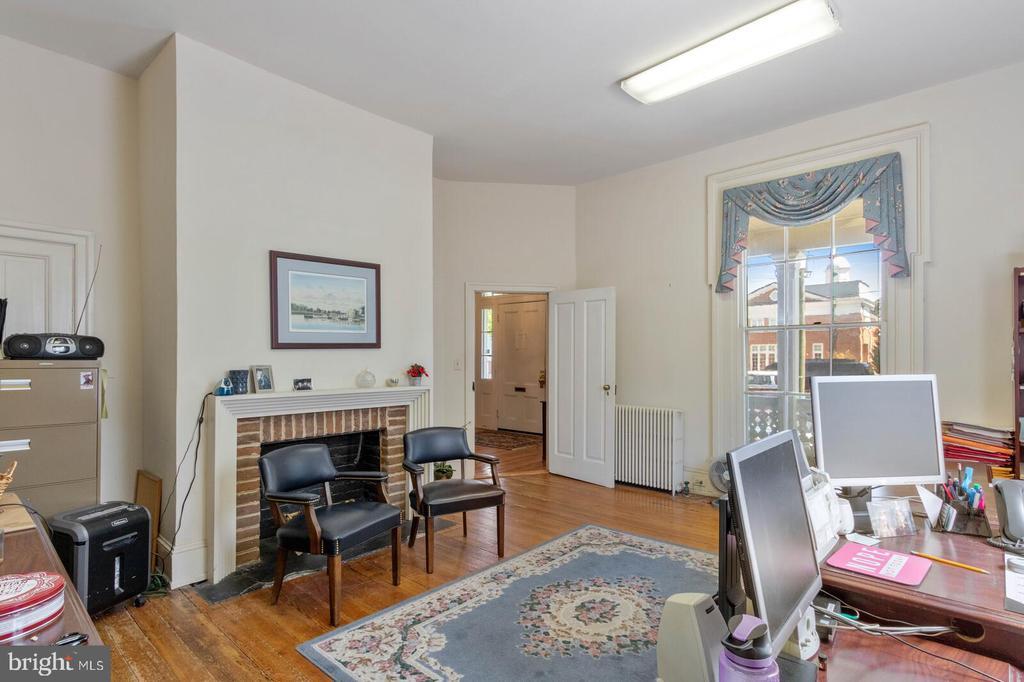 Fireplace in Main Level Office #1 - 804 CHARLES ST, FREDERICKSBURG