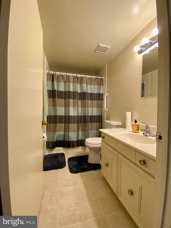 Updated bathroom - 3429 S LEISURE WORLD BLVD #88-3E, SILVER SPRING