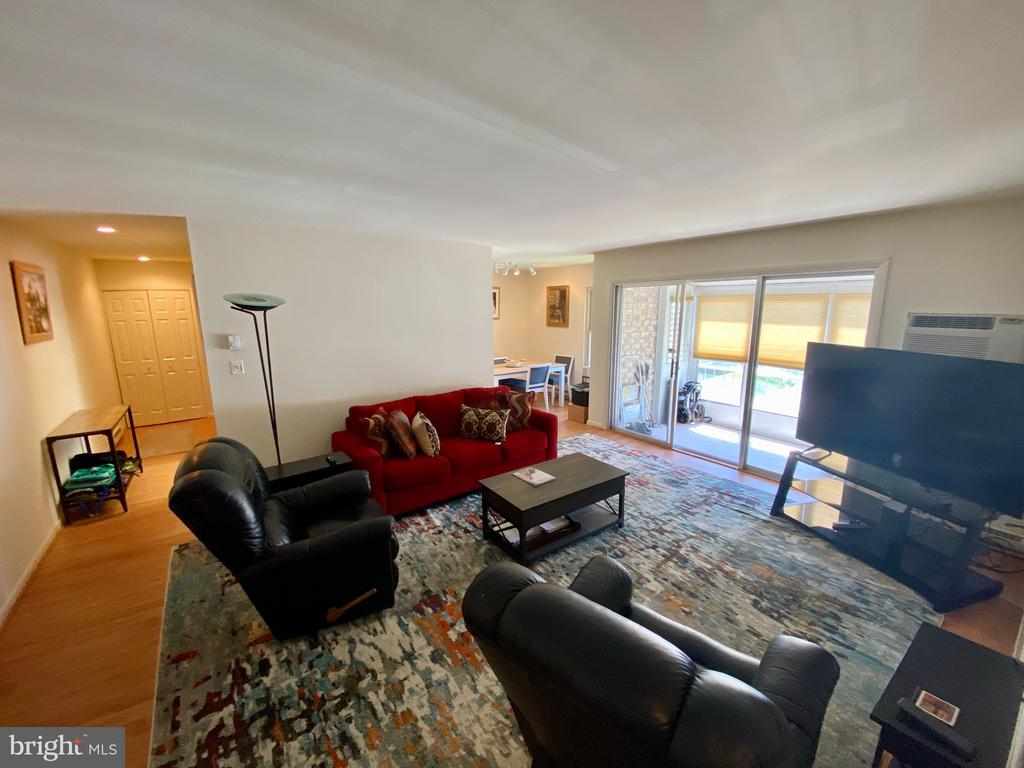 Laminate floors throughout, except bedroom - 3429 S LEISURE WORLD BLVD #88-3E, SILVER SPRING