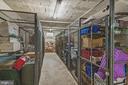 Nice sized extra storage unit - 1816 QUEENS LN #4-222, ARLINGTON