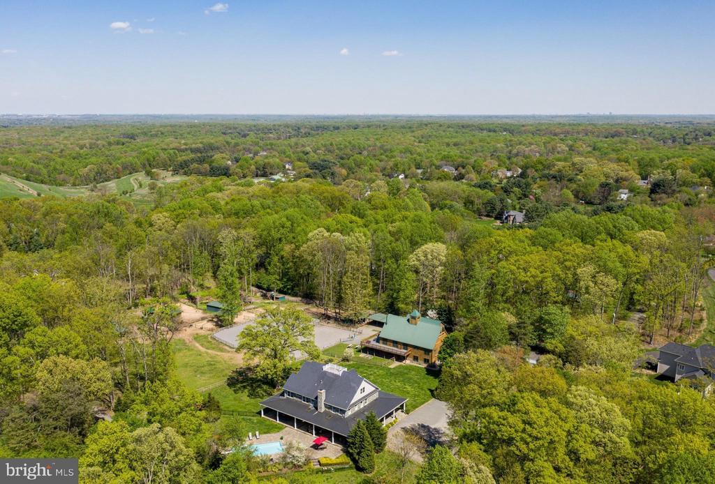 Aerial Views east - 815 BLACKS HILL RD, GREAT FALLS