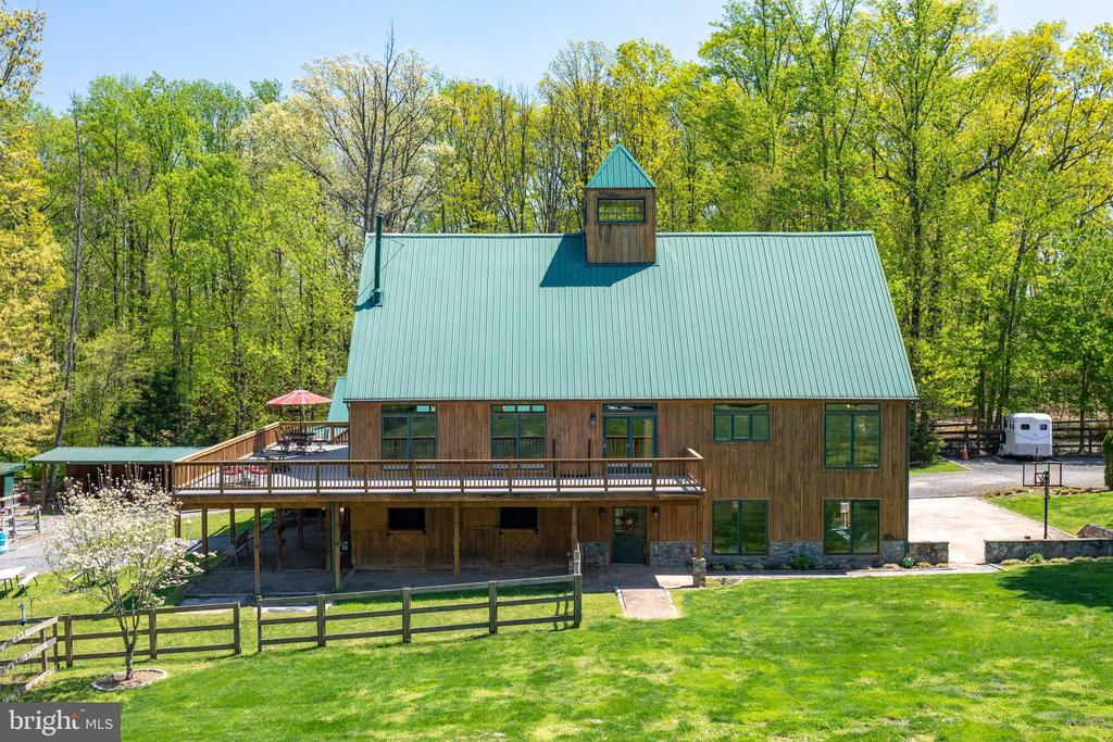 Bird's eye view of Barn - 815 BLACKS HILL RD, GREAT FALLS