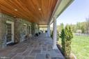 Beautiful tongue in groove ceiling - 815 BLACKS HILL RD, GREAT FALLS