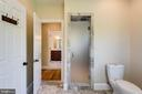 His shower entrance - 815 BLACKS HILL RD, GREAT FALLS