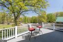 Private balcony to enjoy a morning cup of coffee! - 815 BLACKS HILL RD, GREAT FALLS