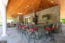 Impressive outdoor kitchen - 815 BLACKS HILL RD, GREAT FALLS