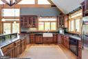Large Kitchen - 815 BLACKS HILL RD, GREAT FALLS