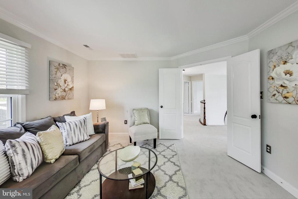 Entry to the Elegant Owner's Suite - 12600 HOMEWOOD WAY, FAIRFAX