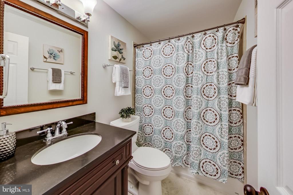 Lower Level Full Bathroom - 12600 HOMEWOOD WAY, FAIRFAX